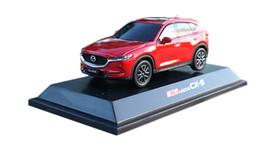 43 coches Rebajas 1:43 modelo de plástico para Mazda CX-5 2018 SUV rojo juguete de plástico miniatura regalo de colección CX5 CX 5