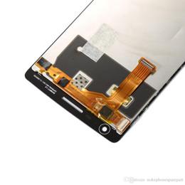Oneplus uma tela lcd on-line-Visor de tela preto do toque da qualidade superior para substituição do conjunto do digitador de Oneplus um Lcd testada