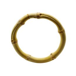 Bambushandtaschen online-Original Natural Bangle Bambus Hand Ringe Armband Luxus Hotel Wohnkultur Serviettenring Vorhang Kleidersäcke Schnalle 4 5ym gg