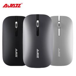 Ajazz I25T 2.4G Kablosuz Fare Bluetooth Fare Utral Ince Çift Modları Dizüstü Oyun Fare Windows Mac Sessiz Dilsiz Ev Ofis için nereden