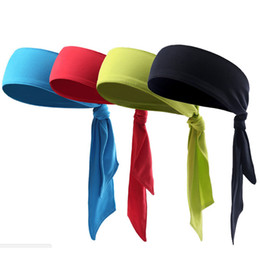 Tie Back Fasce Sport Yoga Gym Fasce per capelli Outdoor Running Fasce Unisex Head Wear Top Quality cheap wear head band da indossare la fascia di testa fornitori
