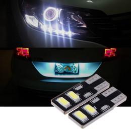 Grânulos de lâmpada led azul on-line-Super brilhante de alta potência LED 10 largura lâmpada W5W carro LED pequeno modificação da lâmpada 5630 lâmpada grânulo destaque economia de energia acessórios