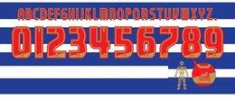 L'ensemble de noms de championnat 2014 d'ANGLAIS d'Or personnalisent le bricolage n'importe quel numéro de nom imprimant le flocage du football ? partir de fabricateur