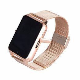 Wholesale 2g Gsm Sim Card - Z60 Smart Watch Bluetooth Android IOS Phone Call 2G GSM SIM TF Card Camera Smartwatch Twitter,Facebook PK DZ09