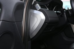 Wholesale Vinyl Aluminium - 2pcs Aluminium Alloy Center Console Side Dashboard Trim Cover Panel For Land Rover Discovery Sport 2015 2016 2017