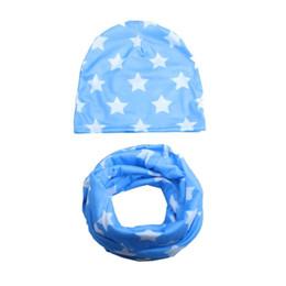 Chapeau enfant enfant infantile enfant en bas âge imprimé doux chapeau bébé Wrap Neck écharpe ? partir de fabricateur