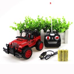 Wholesale gasoline power - Radio Control Buggies Children Electric Power Toys Boy Jeep 1:20 Children Kid Vehicles Remote Car Cross Country Charge Creative 24 8yz V