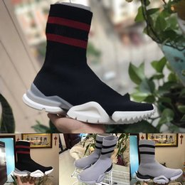 Wholesale Crow Socks - 2018 Vetements crew Sock Runner Trainers Shoes Mens and Womens Casual Shoes Hight Top Sneakers size 36- 44 Free Shipping