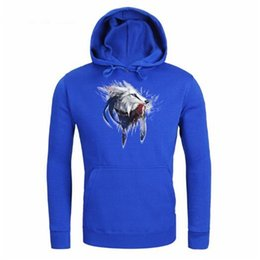 a7106ea26e81 Chinese free shipping Hot Sell Wolf head printing Hooded Men women Hoodies  Print Wolf Autumn print