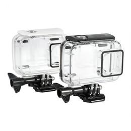 Caja de vivienda protectora impermeable subacuática de los 45m para la cámara de la acción de Xiaomi Yi 2 4k desde fabricantes