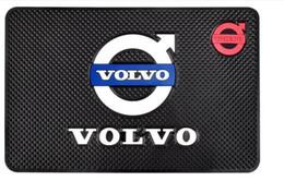 volvo zubehör Rabatt Auto Anti-Rutsch-Matte für Volvo xc60 xc90 s60 s80 v70 v40 s40 v60 v50 Auto Anti-Rutsch-Matte Anti-Rutsch-Matte Car Styling Zubehör
