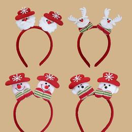 Серьги старые онлайн-Рождество рождественские реквизит голова группа свет возглавил старые волосы обруч пряжки Рождественский подарок