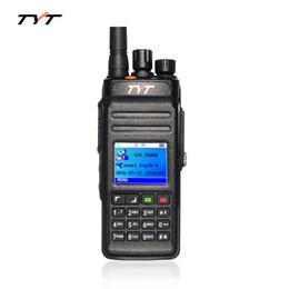 Wholesale Waterproof Walkie - New TYT MD398 DMR Digital Walkie Talkie Waterproof IP67 Two Way Radio High Power 10W UHF 400-470MHz Portable Radio Communicator