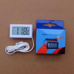 Canada thermomètre numérique électronique de voiture thermomètre instruments hygromètre hygromètre capteur de température capteur pyromètre thermostat Offre