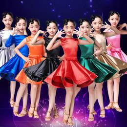 flamengo spandex rumba samba gonna per bambini salsa tango danza sala da  ballo vestito da ballo latino per ragazze salsa salsa latino ragazza bambini a67fdc38652