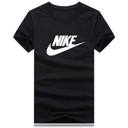 3d t shirts Rebajas Venta al por mayor S-4XL T shirts hombres mujeres Classic marca o cuello Street Run manga corta camisa poloshirt hombres logotipo grande 3D camisetas