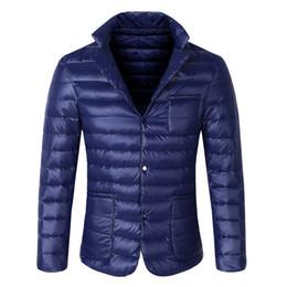 Negócio casual jaqueta on-line-inverno branco jaqueta auto-cultivo business casual quente do revestimento dos homens de 2018 homens novos do inverno para baixo XD430