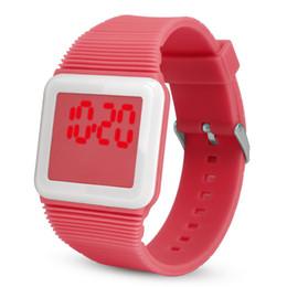 5f920cb3f8f Aimecor nova venda moda infantil do esporte relógio de pulso eletrônico  digital led silicone relógio de pulso pulseira para crianças dos miúdos  acessível ...