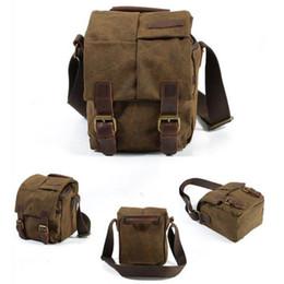 Wholesale Travel Camera Shoulder Bag - Messenger bag shoulder camera bag waterproof moisture-proof Travel Small camera DSLR Backpack for canon nikon sony