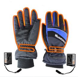 guanti da moto invernali Sconti Guanti invernali riscaldati USB Scaldamani USB Batteria elettrica ricaricabile termica Guanti moto Moto Sci Moto Guanti unisex