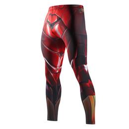 Wholesale Full Superman - Skinny Sweatpants For Men Compression Pants Men Fashion Leggings Men Jogger 3d Fitness Pants Superman Elastictrousers