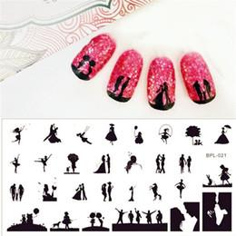 Estampado de uñas de arte x online-NACIDO PRETTY Scetch Pattern Nail Art Stamping Plantilla 12.5 x 6.5 cm Placa de imagen de sello BP-L021