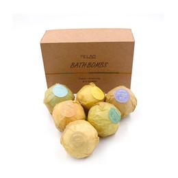Wholesale Handmade Organic - New Bath Bombs Natural Bubble Bath Ball Bomb Essential Oil Handmade SPA Bath Fizzy Wholesale Free Shipping