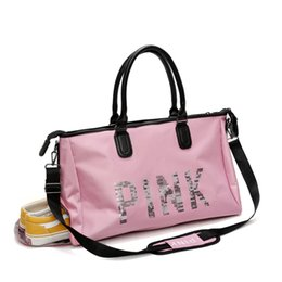 9f0f50b3776 black yoga shoes Promo Codes - Waterproof Shoulder Sports Gym Bag for Shoes  Bags Women Fitness