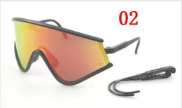 Wholesale Gear Red - Cycling Protective Gear Eyeshade Cycling Eyewear 10 Colors Outdoor Sport Sunglasses Men Women shipping
