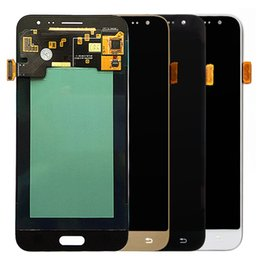 Wholesale Galaxy Screen Assembly - LCD for Samsung Galaxy S5 G900F G900H G900M LCD display touch screen digitizer full Assembly display adjustable