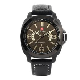 2019 cool new watch design Nouveau Style Conception Spéciale Bandoulière En Cuir Cadran Rond Hommes Montre-Bracelet Mâle Quartz Sport Casual Simple Cool Montres promotion cool new watch design