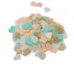 Wholesale hearts confetti - 20g bag Pastel hearts,Small paper heart,Wedding confetti,Pastel decor