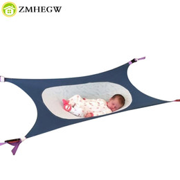 Wholesale Newborn Hammock - Infant Safety Baby Hammock Print Newborn Photography props Baby Photo props Accessories Children's Detachable Portable Bed