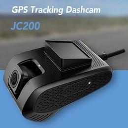 2020 câmera de visualização ao vivo JC200 3G Smart Car GPS Tracking Dashcam com dupla câmera de gravação SOS Live Video View por Free Mobile APP para frota comercial câmera de visualização ao vivo barato