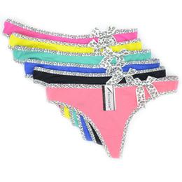 Melhores tangas sensuais on-line-10 PCS Mulheres Melhor Calcinha Sexy Underwear Intimates Algodão Meninas Low-Rise Túnicas Íntimas Senhoras Estiramento Respirável Cuecas