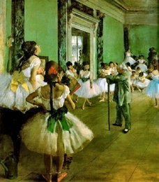 Classe de danse classique par Edgar Degas Handcrafts / HD Print portrait art peinture à l'huile sur toile de haute qualité ? partir de fabricateur