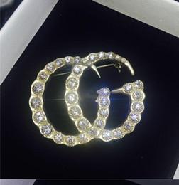 Wholesale brooch earrings - New Arrival Famous Brand Giiu Dangle Earring Crystal Statement Earring Luxury Brand Designer Jewelry High QualityS2