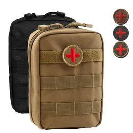 Sac vide pour sac d'urgence Tactical Medical Kit de premiers secours Taille Pack Camping en plein air Voyage Tactical Molle Pouch ? partir de fabricateur