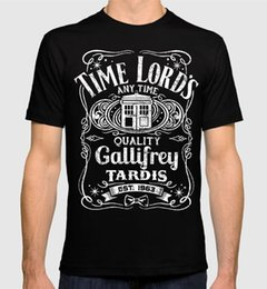 2018 Summer Casual Man Camiseta Doctor Who Time Lord's Tardis Camiseta de mujer para hombres Hot Sale Casual Clothing desde fabricantes