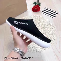 Wholesale Floor Mop Brands - 2018 Luxury Slippers Air Rejuven 8 Mule3 Brand Designer for Men Summer Rubber Sandals Beach Slide Fashion Scuffs Indoor flat Shoes