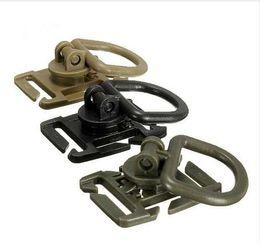 bohren führen Rabatt 5 stücke Taktische Grimlock Rotation D-ring Clips Schnalle MOLLE Gurtband Befestigung Rucksäcke Karabiner EDC werkzeug