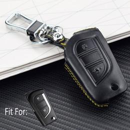 Caja plegable remota de la llave del coche 2 teclas cubierta de la cubierta de la llave de la protección de la cáscara para TOYOTA HIGHLANDER / RAV4 desde fabricantes