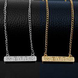 Wholesale Friends Tv Series - dongsheng 2018 TV Series Jewelry Riverdale Weirdo Necklace Jughead Bestie Women Choker Necklace Best Friend Gifts Accessories-30