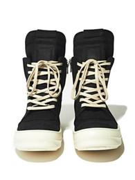 Lista de modelos on-line-2018 nova lista dos homens retro owen genunie sapatos de couro casal modelos influxo de homens e mulheres sapatos altos rick botas