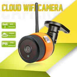 Wholesale Wireless Cloud Camera - Wetrans Wifi IP Camera Wi-fi Outdoor Waterproof HD 720P Wi Fi Night Vision P2P Cloud Storage Wireless Surveillance Camara IP Cam