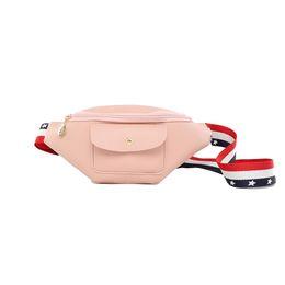 2019 bolsos de cuero bordados Personalidad Moda Bolsos de cintura Eversión de cuero bordado Correa de hombro Bolsos de hombro para niñas Moda Bolso para WomenTravel bolsos