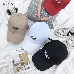 a909ef7c5fe Caps Women New Letter Printed Casual Cap Student Daily Fashion All-match  Korean Style Chic Womens Sun Shade Simple Colorful Cute affordable cute  korean caps