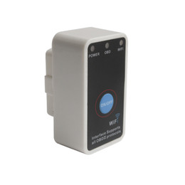 Wholesale porsche switch - V1.5 Super Mini ELM327 WiFi With Switch Work With iPhone OBD-II OBD Can Code Reader Tool