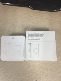 Iphone controlado a distancia online-7-generation 7p Earphones Fox 100% Original OEM Auriculares con cable en los auriculares con micrófono y control remoto para 7plus 8 plus