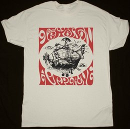 airplane prints Australia - JEFFERSON AIRPLANE AIRPLANE SHIRT NATURAL TSHIRT PSYCHEDELIC ROCK ACID WOODSTOCK Short Sleeve Fashion Summer Printing Casual